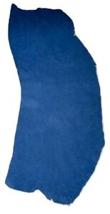 4 - 5 oz  Blue Buffalo Leather Hide Bison Moccasins Native Crafts Bags Pouches