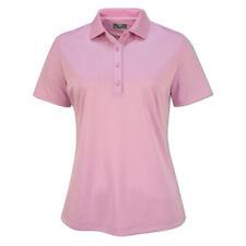 Callaway Ladies Short Sleeve Swing Tech Polo with Opti-Dri in Lilac Chiffon