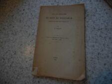 1908.Essai de biographie de Jean de Foleville.Gaillard (envoi)