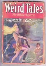 Pulp WEIRD TALES September 1930 - Clark Ashton Smith, Frank Belknap Long - Good
