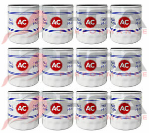 Genuine GM ACDelco Vintage Classic PF25 Oil Filter AC Logo 19187300 Case Of 12