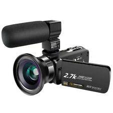 Camera Video Digital High Definition 30MP Camcorder wi-Fi Vlog Travel
