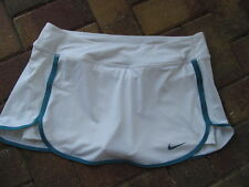 NIKE DRI-FIT Tennis Skort Skirt with Attached Shorts #646167 sz L NWT  WHITE