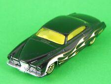 Hot Wheels 56356 nera con fiamme Mattel modellino vintage car auto da collezione