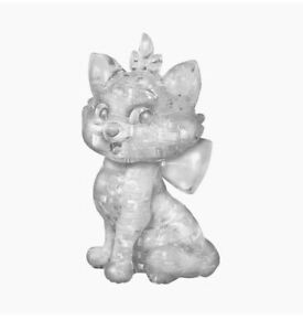 BePuzzled 3D Crystal Puzzle - Disney Marie Cat (White) - Free Shipping!