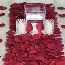 2000 Burgundy Silk Rose Petals Wedding Party Decorations Supplies Wholesale
