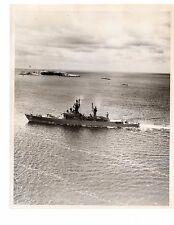 USS Josephus Daniels DLG-27 CG-27 Cruiser Navy Ship Original 8x10