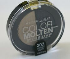 New Maybelline Color Molten Eye Studio Duo Eye Shadow-303 Midnight Morp