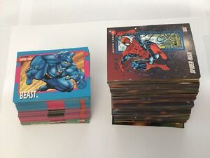 1992 Marvel X-Men Series 1 Trading Cards COMPLETE BASE SET, #1-100 and more