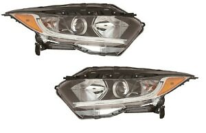 FITS HONDA HRV HR-V 2019-2020 HALOGEN HEADLIGHTS HEAD LIGHTS LAMPS PAIR SET