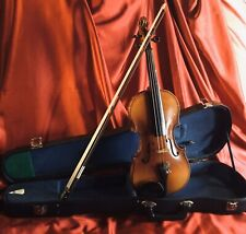 Violin, 3/4 Vintage Good Quality Instrument, all Ready To Play