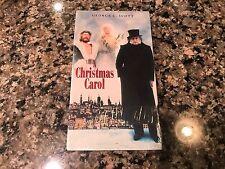 Christmas Carol New Sealed VHS! 1984 An American Christmas Carol Scrooge Ebbie