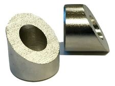 "Angle / Beveled Washer for 1/4"" Fittings - 35 Degree Angle - Stainless Steel"