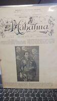 Vintage MAHATMA Paper Devoted to Magicians SOTO SUNETARIO ISSUE 1898 Vol.II No.2