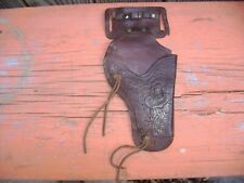 Lake Okoboji Iowa Cap Gun Toy Leather Holster 1940's or 50's