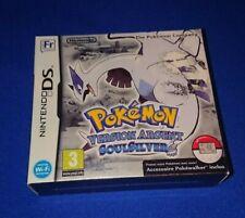 RARE FRENCH (Français) NEW Nintendo DS Pokemon Soul Silver 3DS PokeWalker