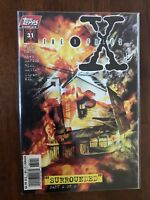 X-Files Surrounded 31 Part 2 of 2 July 1997 Topps Comics FREE Bag/Board Carter