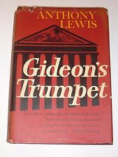 Gideon's Trumpet by Anthony Lewis, Random House, 1964. 1st Printing