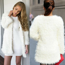 Faux Fur Unbranded Machine Washable Regular Coats & Jackets for Women