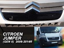 CITROEN JUMPER  2006 - 2014  Front grill winter cover HEKO 04052  UPPER