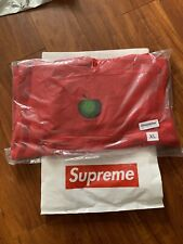 Supreme Men's Apple Hooded Sweatshirt Size XL Red Hoodie SS19