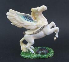 Pegasus Horse Jewelled Enamalled Trinket Box or Figurine