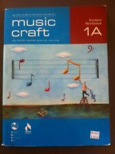 MUSIC CRAFT student Workbook 1A Theory AMEB & 2 Cd's