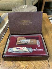 Vintage Schrade Cutlery Cowboy Commemorative Scrimshaw Limited Edition Knife Vtg