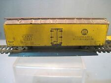 ANTIQUE PREWAR  WOOD HO SCALE ROCK ISLAND VENTALATED  REFRIGERATED LINES