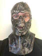 Open Face Jason VII 7 Halloween Mask Horror Fancy Dress Masks Bloody Hood