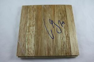 Aaron Gray Signed 6x6 Floorboard Chicago Bulls Authentic NBA Autograph