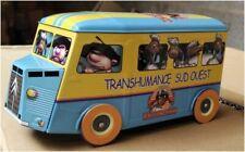 rare CITROEN HY transhumance - BOITE A GATEAU METAL BOX VAN TUBE CAMION