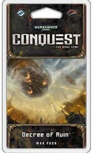 FFG Warhammer 40,000 Conquest War Pack #1 - Decree of Ruin New