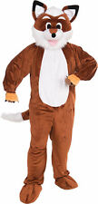 Fox Mascot Adult Mens Costume Nature Animal Funny Theme Party Cute Halloween