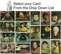 1976 TOPPS STAR TREK CARDS & STICKERS YOU PICK FROM SCANS