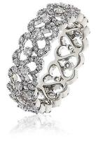 Diamond Full Eternity Ring 1.30ct F VS Brilliant Cut set in 18ct White Gold