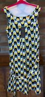 """Limited Collection 100% Silk Tunic/Dress + Belt, Size 12, L37.5""""  M&S, BNWT £59"""