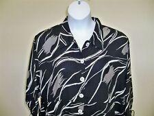 "Paradiso Tie Cuff Jacket Tunic NWT  5X /  H  B:70"" - Making It Big"