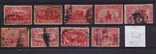 ! United States 1912. A Torn Seal Lot Of 9 Colis   Stamp. YT#. €55.00!