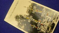 Alert Bay BC totem pole postcard Bella Bella 1941 cancellation cemetery  #1399