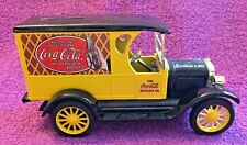ERTL Coca-Cola Delivery Truck Metal Bank