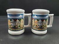 "San Francisco Vintage Cup Mug Souvenir 2.5"" Salt & Pepper Shakers"