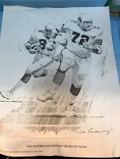 TWO PENCIL DRAWINGS 1981 --DIERDORF & HART-ARTIST SIGNED