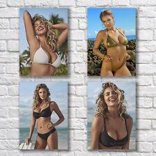 Kate Upton Poster A4 NEW Set HQ Print Sexy Pretty Woman Model Home Wall Decor