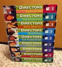 AFI DIRECTORS biography 9-tape set Milos Forman Robert Altman VHS Sydney Pollack
