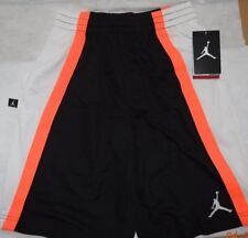 New Boy's Black White Jordan Dri-Fit shorts  Size XL   13-15  years old