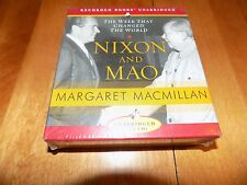 NIXON AND MAO The Week That Changed the World Audiobook Unabridged 13 CDs CD NEW