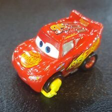 DISNEY PIXAR CARS DIE CAST MINI RACERS IMPOUND LIGHTNING MCQUEEN CUSTOM FREE SHI