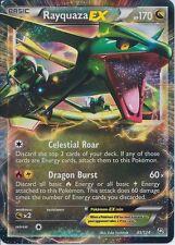 1x Rayquaza-EX - 85/124 - Holo Rare ex NM-Mint Pokemon BW - Dragons Exalted