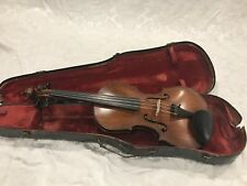 Old Antique Vintage American Violin Labelled Jas. A. Sabin 1934 - Rare Find!